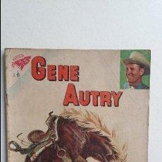 Tebeos: GENE AUTRY N° 63 - ORIGINAL EDITORIAL NOVARO. Lote 119509539