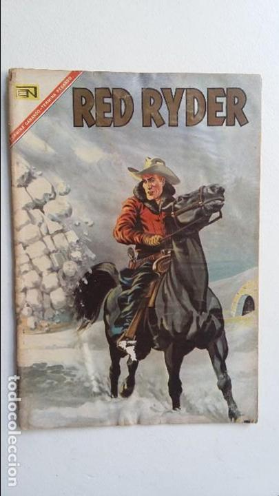 RED RYDER N° 156 - ORIGINAL EDITORIAL NOVARO (Tebeos y Comics - Novaro - Red Ryder)