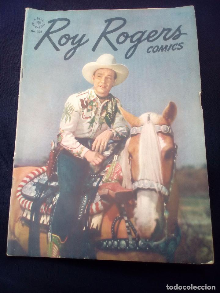 COMICS. ROY ROGERS A DELL MAGAZINE 124 (Tebeos y Comics - Novaro - Roy Roger)