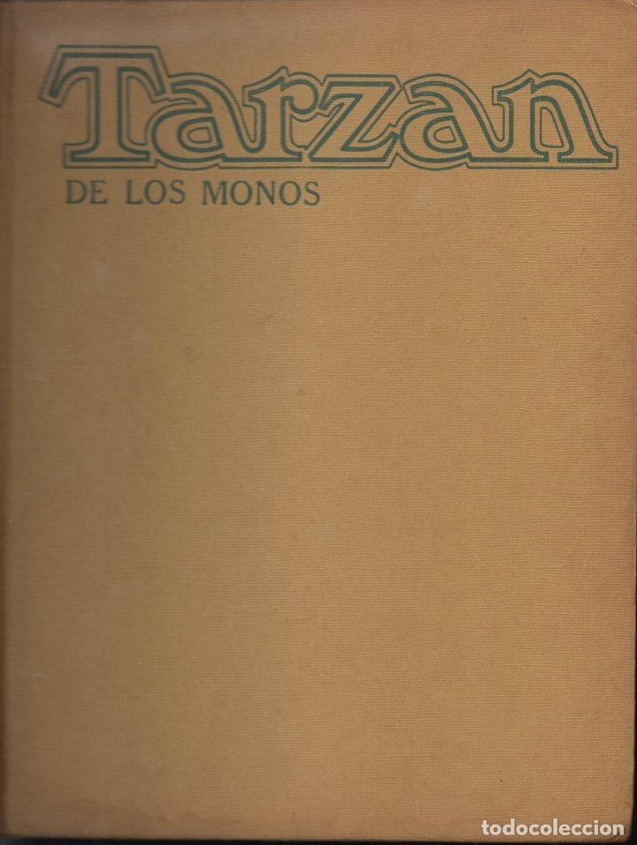 TARZÁN DE LOS MONOS POR BURNE HOGART - NOVARO, TAPA DURA, 1973, GRAN FORMATO (Tebeos y Comics - Novaro - Tarzán)