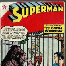 Tebeos: SUPERMAN Nº 161 - EL GORILA REPORTERO - ERSA ED. RECREATIVAS 1958 - NOVARO. Lote 120130819