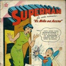 Tebeos: SUPERMAN Nº 214 - EL NIÑO DE ACERO - ERSA ED. RECREATIVAS 1959 - NOVARO. Lote 120132831