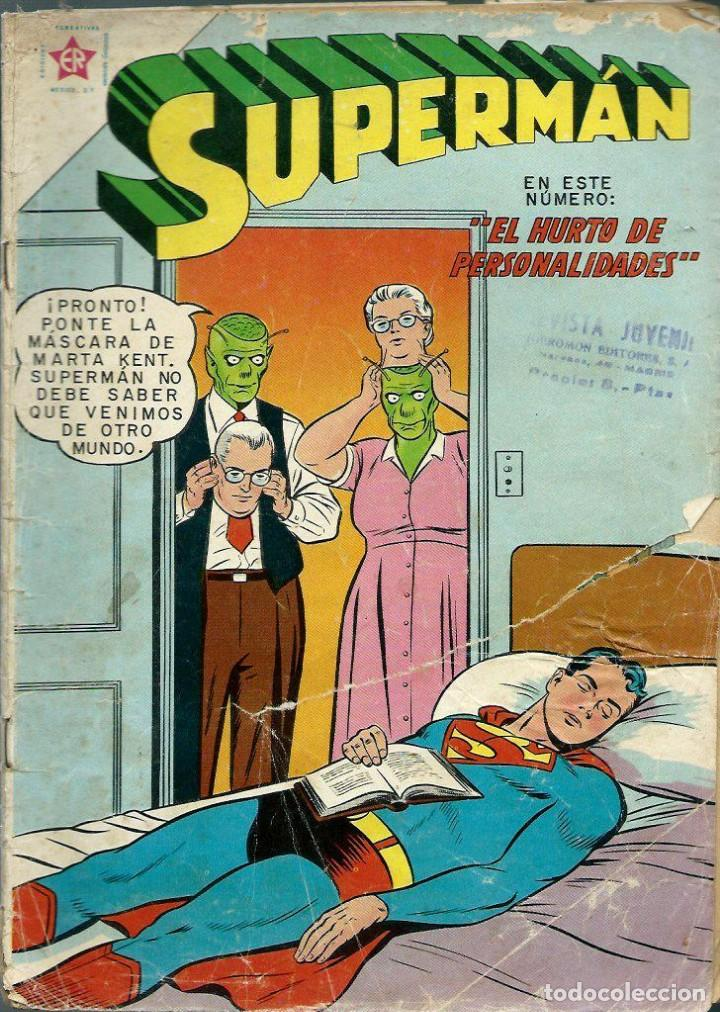 SUPERMAN Nº 286 - EL HURTO DE PERSONALIDADES - ERSA ED. RECREATIVAS 1961 - NOVARO (Tebeos y Comics - Novaro - Superman)