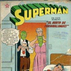 Tebeos: SUPERMAN Nº 286 - EL HURTO DE PERSONALIDADES - ERSA ED. RECREATIVAS 1961 - NOVARO. Lote 120134431