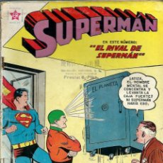 Tebeos: SUPERMAN Nº 335 - EL RIVAL DE SUPERMAN - ERSA ED. RECREATIVAS 1962 - NOVARO. Lote 120136271