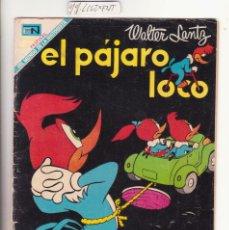 Tebeos: NOVARO EL PAJARO LOCO 325. Lote 120141147