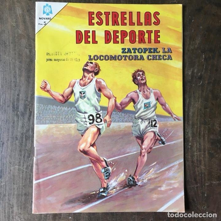 ESTRELLAS DEL DEPORTE ED NOVARO, NÚMERO 1 AÑO 1965 (Tebeos y Comics - Novaro - Otros)