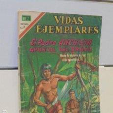 Tebeos: VIDAS EJEMPLARES Nº 328 EL PADRE ANCHIETA, APOSTOL DEL BRASIL - NOVARO -. Lote 120451543