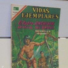 Tebeos: VIDAS EJEMPLARES Nº 328 EL PADRE ANCHIETA, APOSTOL DEL BRASIL - NOVARO -. Lote 120451663
