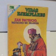 Tebeos: VIDAS EJEMPLARES Nº 263 SAN PATRICIO, PATRONO DE IRLANDA - NOVARO -. Lote 120451911