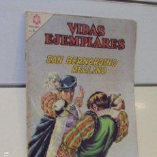 Tebeos: VIDAS EJEMPLARES Nº 217 SAN BERNARDINO REALINO - NOVARO -. Lote 120752990