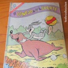 Tebeos: EL CONEJO DE LA SUERTE Nº 251 - NOVARO - BUGS BUNNY. Lote 120668891
