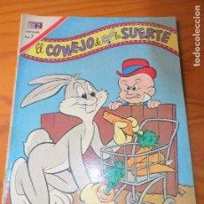 Tebeos: EL CONEJO DE LA SUERTE Nº 333 - NOVARO - BUGS BUNNY. Lote 120669255