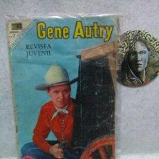 Tebeos: COMICS NOVARO GENE AUTRY AÑO 1969 Nº 186...PRESENTA USO.. Lote 120980399