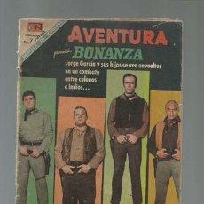 Tebeos: AVENTURA 559: BONANZA, 1968, NOVARO. Lote 121176759