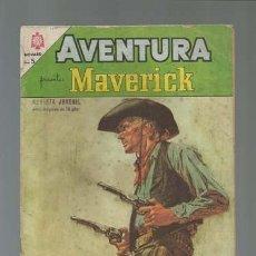 Tebeos: AVENTURA 350: MAVERICK, 1964, NOVARO. Lote 121178567
