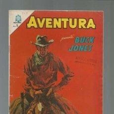 Tebeos: AVENTURA 359: BUCK JONES, 1964, NOVARO, MUY BUEN ESTADO. Lote 121178899