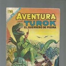 Tebeos: AVENTURA 525: TUROK, EL GUERRERO DE PIEDRA, 1968, NOVARO. Lote 121179355