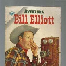 Tebeos: AVENTURA 24: BILL ELLIOT, 1955, NOVARO, BUEN ESTADO. Lote 121179811