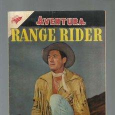 Tebeos: AVENTURA 28: RANGE RIDER, 1956, NOVARO, MUY BUEN ESTADO. Lote 121180543
