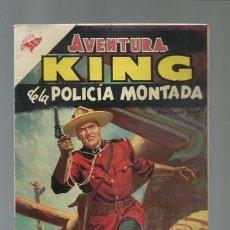 Tebeos: AVENTURA 29: KING DE LA POLICIA MONTADA, 1956, NOVARO, MUY BUEN ESTADO. Lote 121181127