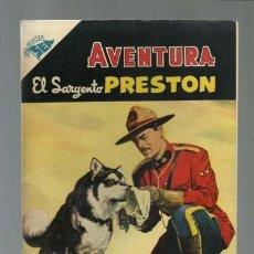 Tebeos: AVENTURA 18: EL SARGENTO PRESTON, 1955, NOVARO, MUY BUEN ESTADO. Lote 121183555