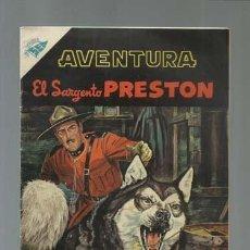 Tebeos: AVENTURA 48: EL SARGENTO PRESTON, 1956, NOVARO, MUY BUEN ESTADO. Lote 121183647