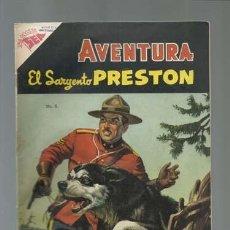 Tebeos: AVENTURA 6: EL SARGENTO PRESTON, 1954, NOVARO, MUY BUEN ESTADO. Lote 121183911