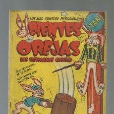 Tebeos: DIENTES Y OREJAS, LOS HERNANOS CONEJO, NÚMERO 1, 1951, LA PRENSA, BUEN ESTADO. Lote 121206531