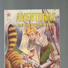Tebeos: AVENTURAS DE LA VIDA REAL 67: EL HÉROE DE FLANBOROUGH, 1961, NOVARO, PROCEDENTE DE ENCUADERNACIÓN. Lote 121207663