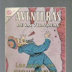 Tebeos: AVENTURAS DE LA VIDA REAL 100: LAS GRUTAS DE CACAHUAMILPA, 1964, NOVARO, BUEN ESTADO. Lote 121208463