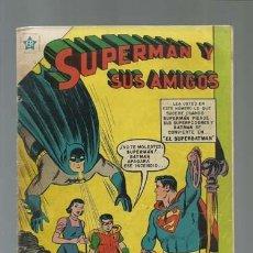Tebeos: SUPERMAN Y SUS AMIGOS 4: EL SUPERBATMAN, 1956, NOVARO, BUEN ESTADO. Lote 121214343