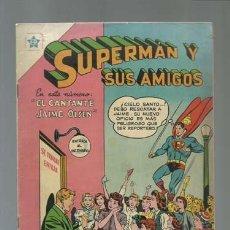 Tebeos: SUPERMAN Y SUS AMIGOS 7: EL CANTANTE JAIME OLSEN, 1956, NOVARO, MUY BUEN ESTADO. Lote 121215107