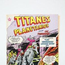 Tebeos: ANTIGUO CÓMIC - TITANES PLANETARIOS Nº 161- EDITORIAL NOVARO, AÑO 1963. Lote 121242715