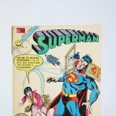 Tebeos: ANTIGUO CÓMIC - SUPERMÁN Nº 863 - EDITORIAL NOVARO, AÑO 1972. Lote 121244091