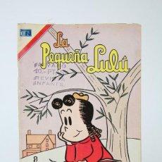 Tebeos: ANTIGUO CÓMIC - LA PEQUEÑA LULÚ Nº 385 - EDITORIAL NOVARO, AÑO 1974. Lote 121244475