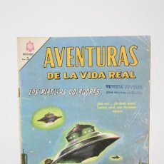 Tebeos: ANTIGUO CÓMIC - AVENTURAS DE LA VIDA REAL / LOS PLATILLOS VOLADORES Nº 126 - EDIT NOVARO, AÑO 1966. Lote 121244707