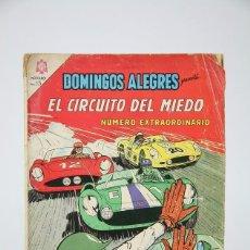 Tebeos: ANTIGUO CÓMIC -DOMINGOS ALEGRES/EL CIRCUITO DEL MIEDO Nº 573- NÚMERO EXTRAODINARIO- NOVARO, AÑO 1965. Lote 121245475