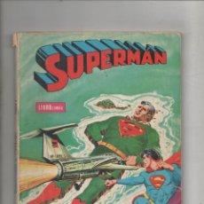 Tebeos: SUPERMAN LIBROCOMIC TOMO Nº 1 NOVARO.DA. Lote 121283655