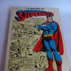 Tebeos: COMIC LA HISTORIA DE SUPERMAN , NOVARO 1979 , VER FOTOS. Lote 121313599