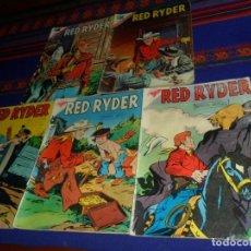 Tebeos: SEA NOVARO RED RYDER NºS 49 51 52 147 165. AÑO 1958. RAROS.. Lote 121328163