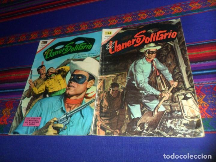 NOVARO EL LLANERO SOLITARIO NºS 168 Y 176. 5 PTS 1967. REGALO Nº 290. (Tebeos y Comics - Novaro - El Llanero Solitario)