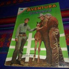 Tebeos: NOVARO, AVENTURA Nº 503 CON BONANZA. 5 PTS. 1967. REGALO Nº 463 ANNIE OAKLEY. BUEN ESTADO.. Lote 121335575