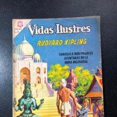 Tebeos: VIDAS ILUSTRES. RUDYARD KIPLING.. Lote 121475019