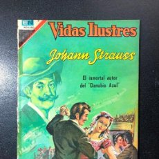 Tebeos: VIDAS ILUSTRES. JOHANN STRAUSS. Lote 121475483