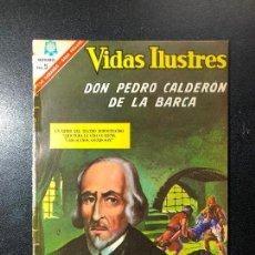 Tebeos: VIDAS ILUSTRES. DON PEDRO CALDERÓN DE LA BARCA.. Lote 121475531