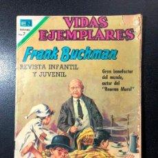 Tebeos: VIDAS EJEMPLARES. FRANK BUCHMAN. Lote 121476367
