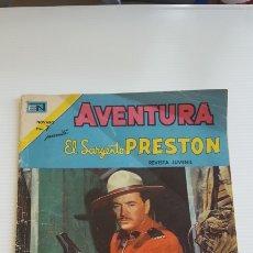 Tebeos: EL SARGENTO PRESTON. 1973.NOVARO. Lote 121518332