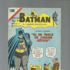 Tebeos: BATMAN 767: EL EX ÍDOLO DE CIUDAD GÓTICA, 1975, NOVARO, MUY BUEN ESTADO. Lote 121567927