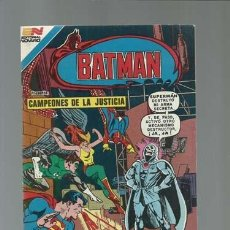 Tebeos: BATMAN 9 (AVESTRUZ): CAMPEONES DE LA JUSTICIA, 1981, NOVARO, MUY BUEN ESTADO. Lote 121567991